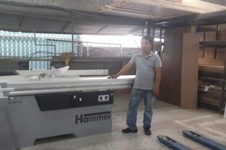 Công ty Nghị Phong tại Quận Thủ Đức, HCM sử dụng Máy cưa bàn...