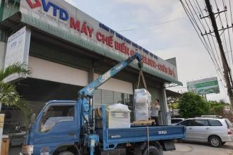 Công ty Gấu Vua tại Phú Quốc, Kiên Giang đầu tư thêm Máy dán...