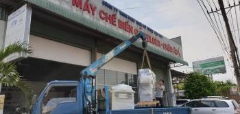 Công ty Gấu Vua tại Phú Quốc, Kiên Giang đầu tư thêm Máy dán cạnh tự động Felder G330 và Máy khoan dàn FD21