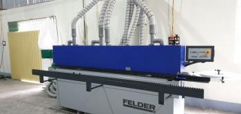 Công ty Nam Anh Phú Quốc sử dụng dàn Máy dán cạnh G480, Máy cưa bàn trượt K540S và Máy khoan dàn FD21 Professional