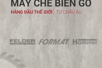 Catalogue 2016-2017 Máy chế biến gỗ Felder - Tiếng Việt
