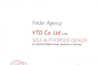 Công ty VTD trở thành nhà phân phối thiết bị chế biến gỗ...