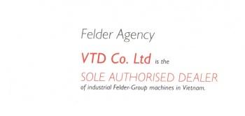 Công ty VTD trở thành nhà phân phối thiết bị chế biến gỗ Felder Group