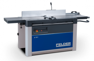 The Felder AD 951 planer/thicknesser