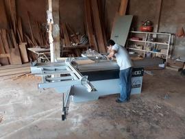 Công ty TNHH Gấu Vua tại Phú Quốc, Kiên Giang sử dụng Máy cưa bàn trượt Felder K540S