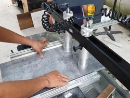 Khách hàng tại Thành phố Hội An, Quảng Nam sử dụng Máy Khoan dàn 21 mũi Felder FD21 Professional