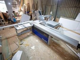Xưởng Tự tay làm mộc tại 103/4B bờ kênh19-5, P Sơn Kỳ, Q Tân Phú, Thành phố Hồ Chí Minh Phú sử dụng Máy cưa bàn trượt Felder K940S
