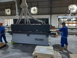 Công ty Việt Phúc Hưng tại Bình Dương sử dụng Máy dán cạnh tự động G480