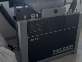 Công ty Akzo Nobel tại KCN Amatar Sử dụng Máy cưa bàn trượt Felder K540S, Máy bào AD741 và máy hút bụi RL160